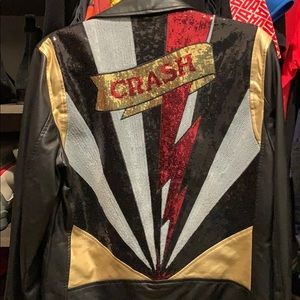 Zara Crash Faux leather jacket